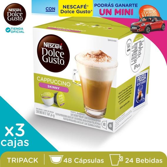 Nescafé® Dolce Gusto® Cappuccino Skinny X 3 Unidades