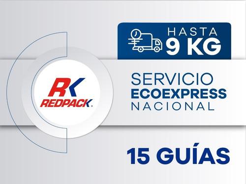 Imagen 1 de 1 de 15 Guías Prepagadas  Ecoexpress Hasta 9 Kg
