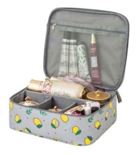 Imagen 1 de 8 de Neceser Glam Porta Cosmetico Travel Organizador Estampado
