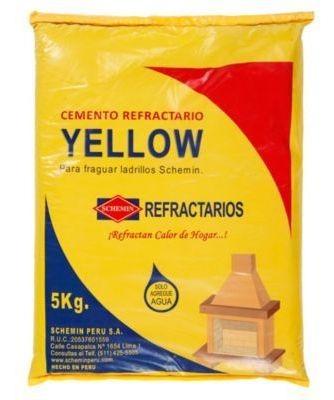 Cemento Refractario Yellow 5kg Consult Stock