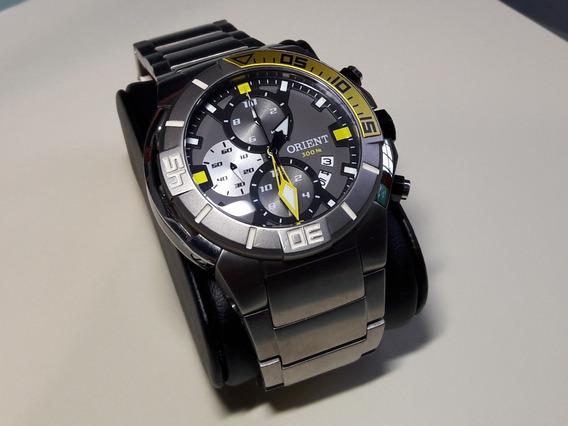 Relógio Orient Seatech Mbttc003 Titânio