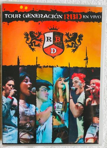 Dvd Lacrado Rbd Tour Generación En Vivo Original Raridade