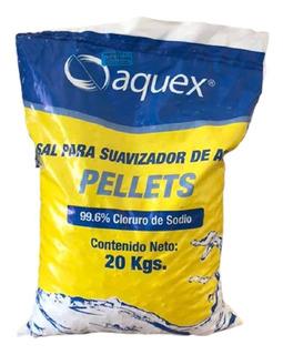Sal Aquex En Pellets Para Suavizador 99.6-99.8% 20 Kg
