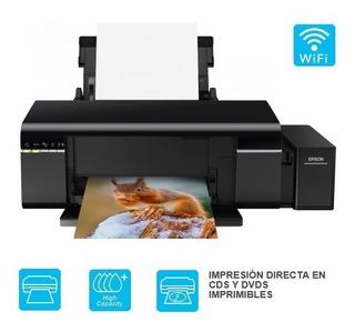 Epson L805 Impresora Ecotank Wi Fi Fotográfica, Cd / Dvd