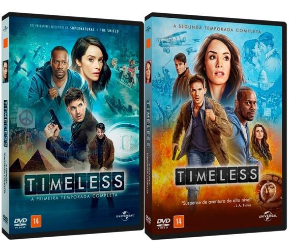 Série Timeless 1ª E 2ª Temporadas + Especial