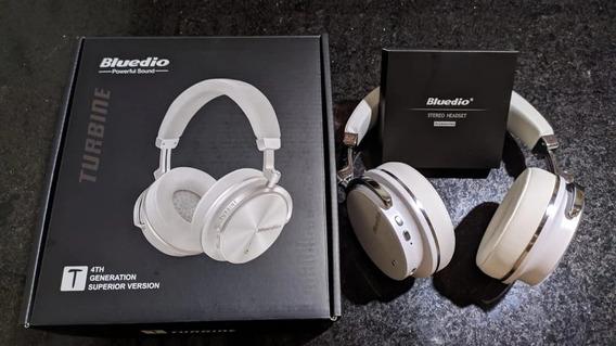 Headphone Bluedio T4s Bluetooth Estéreo Microfone
