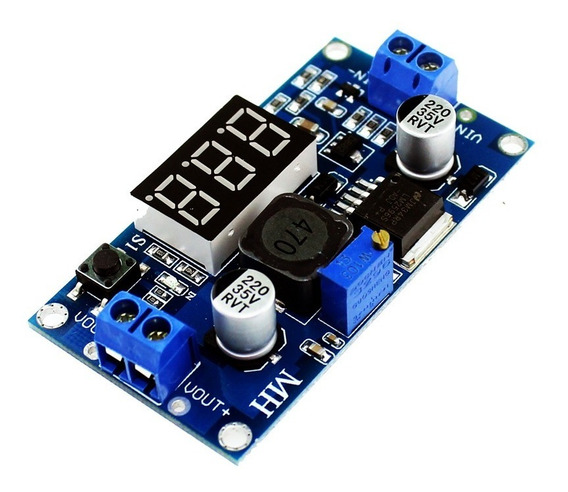 Regulador De Tensão Lm2596 3a Display Para Arduino Esp8266