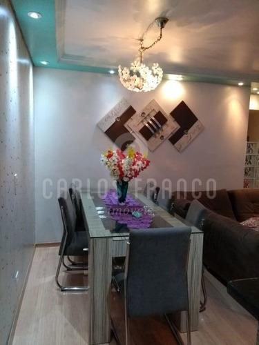 Imagem 1 de 9 de Apartamento A Venda Condomínio Pedras Raras - Campo Limpo - Sp - Cf66530