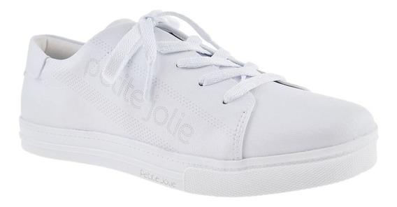 Tênis Branco Lupita Petite Jolie Pj4608