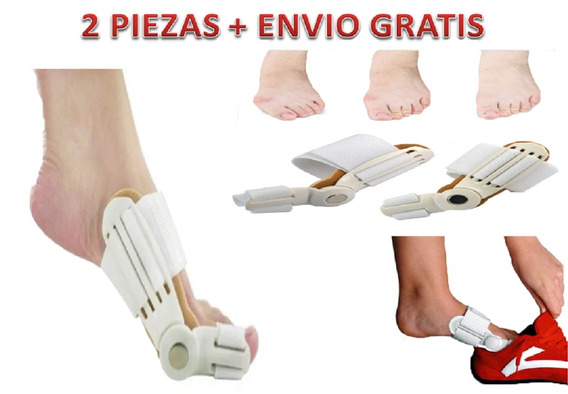 Corrector Juanete 2 Férulas Unitalla Flexible+ Envío Gratis
