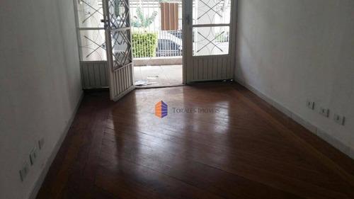 Casa Comercial Para Alugar, 60 M² Por R$ 1.400/mês - Parque São Jorge - São Paulo/sp - Ca0209