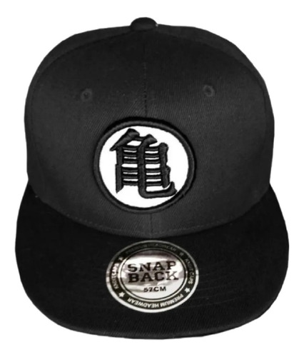Dbz Gorra Goku Black Dragon Ball Super Logo Bordado Negro