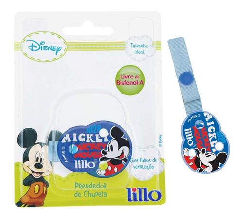 Prendedor Para  Chupetas Disney Mickey Lillo