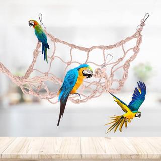 Loro Aves Juguetes Cuerda De Cáñamo Grande Escalada Neto L