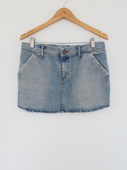 Pollera Levis De Jeans