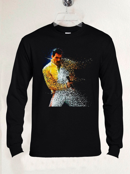 Polera Ml Queen Freddie Mercury Fade Out Rock Abominatron