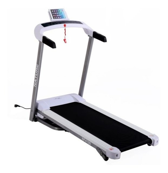 Caminadora Motor 1.25hp Inclinacion Nature Fitness Nf-4100