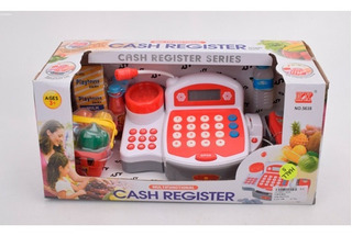 Caja Registradora Cash Register Rojo 1075982 E.full