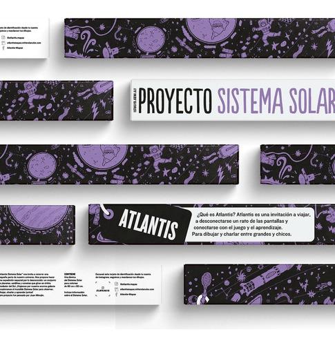 Atlantis Mapas Proyecto Sistema Solar Para Colorear