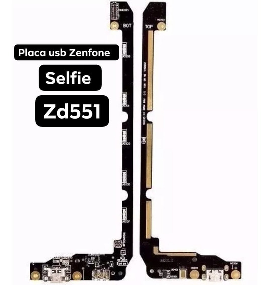 Placa Conector Carga Usb Microfone Zenfone Selfie Zd55