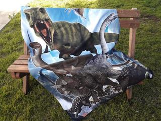 Toallón Dinosaurios !!!