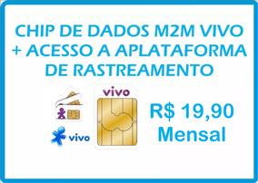 Chip Vivo M2m Central De Rastreamento Mensal Tk103b Tk303