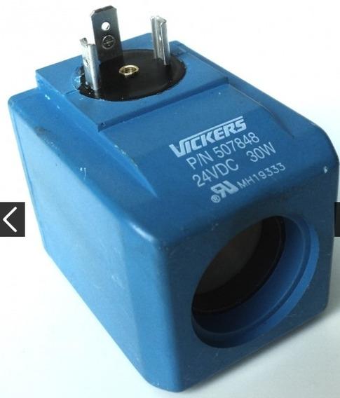 Solenoide Vickers Pn507848 24vdc 30w 24mm Diametro