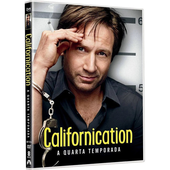 Seriado Californication 4ª Temporada 2 Discos Dvd - Original