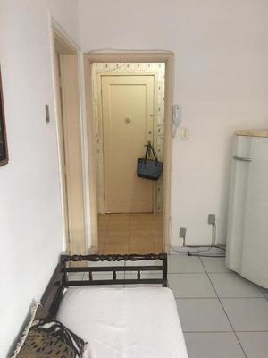 Kitnet Em Boqueirão, Santos/sp De 35m² 1 Quartos Para Locação R$ 1.400,00/mes - Kn241091