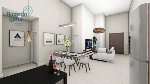 Casa Com 3 Dormitórios À Venda, 138 M² Por R$ 700.000,00 - Parque Taquaral - Piracicaba/sp - Ca1252