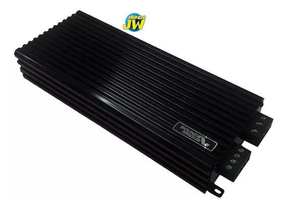 Potencia Sound Magus Dk1800 1800w Rms - Monoblock - 1800rms