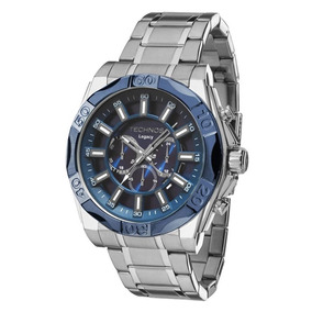 Relógio Masculino Techos Classic Legacy Js25bb/1a - Prata