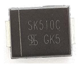 Diodo Sk510c Ss510 Mb510 Original 5peças 100v 5a Frete 8,00