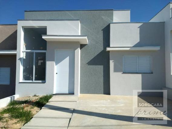 Casa Com 3 Dormitórios À Venda, 94 M² Por R$ 350.000 - Condomínio Terras De São Francisco - Sorocaba/sp - Ca0068