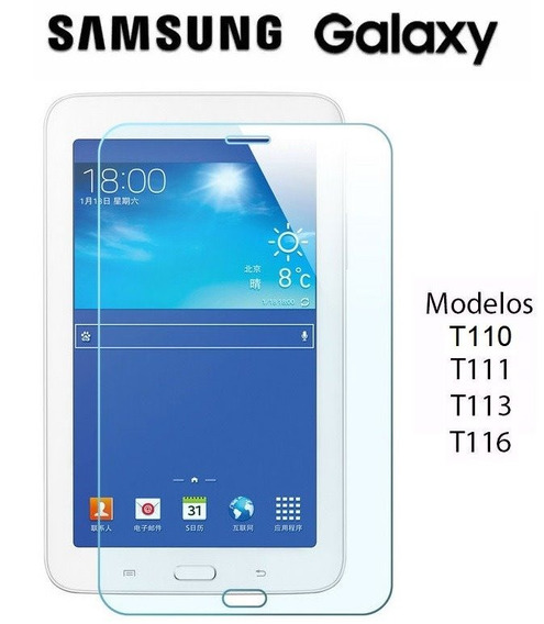 Capa Tablet Samsung Galaxy Tab3 7 T110 T113 + Película Vidro