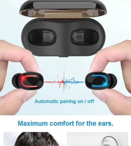 Fones De Ouvido Sem Fio Tws Verdade Bluetooth Sem Fio Intra-