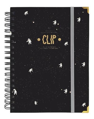 Cuaderno Agenda 2021, 5 Materias - Astronautas