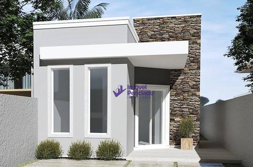 Casa Com 2 Dormitórios À Venda Por R$ 168.000,00 - Jardim Da Barra - Itapoá/sc - Ca0633