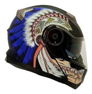 Casco Cerrado Negro Mate Rider One