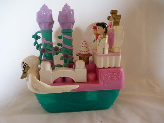 Juego De Bloques Lego Barco Princesa Ariel