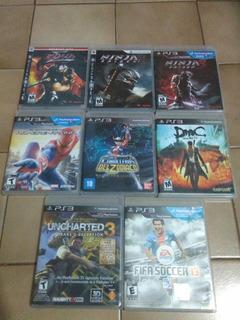 Playstation 3 Juegos Impecables