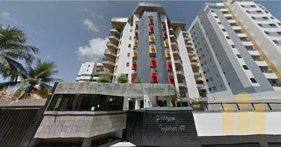 Apartamento Com 3 Dormitórios À Venda, 112 M² Por R$ 510.000 - Jatiúca - Maceió/al - Ap0469