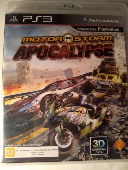 Motorstorm Apocalypse Ps3 Em Português Mídia Física Original