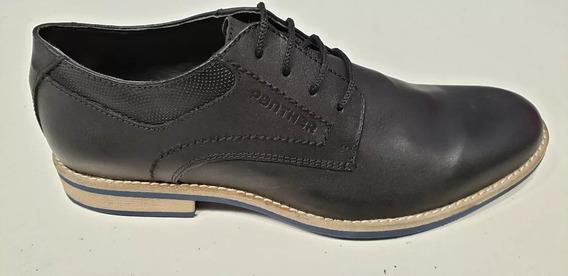 Zapatos Panther Crust Negro
