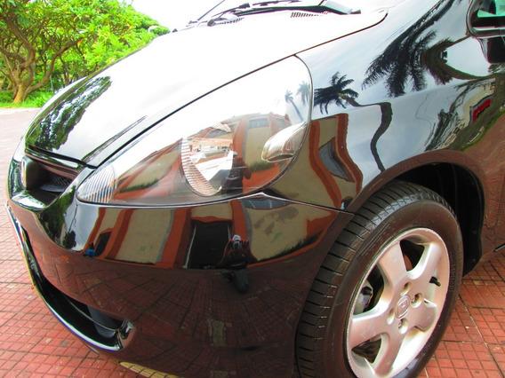 Honda Fit 2005 Lxl Automático + Couro + 4 Pneus Novos Bonito