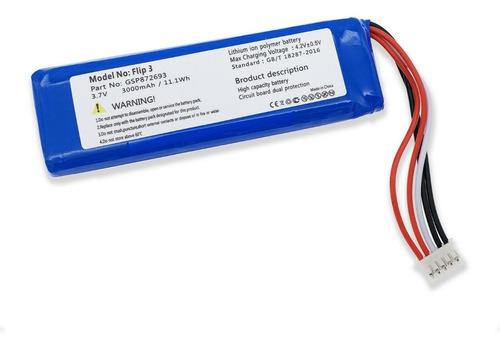 Bateria Para Jbl Flip 3 Jblflip3 Gsp872693 P763098 *