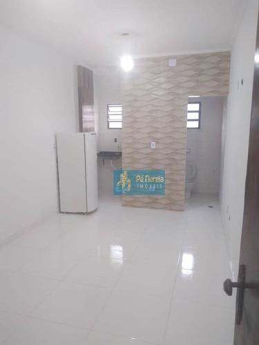 Imagem 1 de 11 de Kitnet Com 1 Dormitório À Venda, 26 M² Por R$ 120.000 - Caiçara - Praia Grande/sp - Kn0077