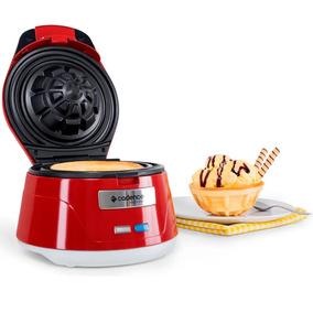 Maquina De Waffle Cadence Bowl Vermelha Waf101 127v