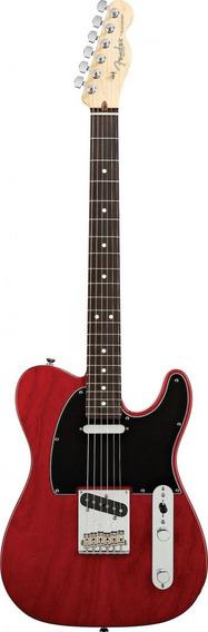 Guitarra Fender Am Standard Tele Rw 011 3200 Crimson Red Tra