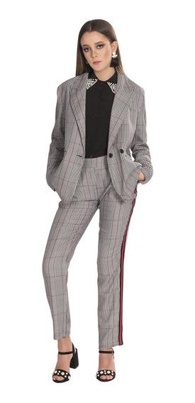 Saco Mujer Moda Casual Vestir Formal Cruzado T83101